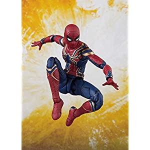 Bandai Tamashii Nations S.H. Figuarts Iron Spider & Tamashii Stage Avengers: Infinity War Action Figure