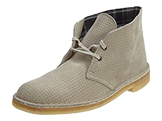 Clarks Men's Desert Boot,Grey Perforated,9.5 M US (B0058ZNO96) | Amazon price tracker / tracking, Amazon price history charts, Amazon price watches, Amazon price drop alerts