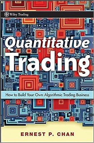 Quantitative Trading A HFT primer