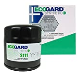 ECOGARD S111 Spin-On Engine Oil Filter for Synthetic Oil - Premium Replacement Fits Buick LeSabre, Century, Regal, Park Avenue, Rendezvous, LaCrosse, Lucerne, Riviera, Skylark, Terraza, Electra