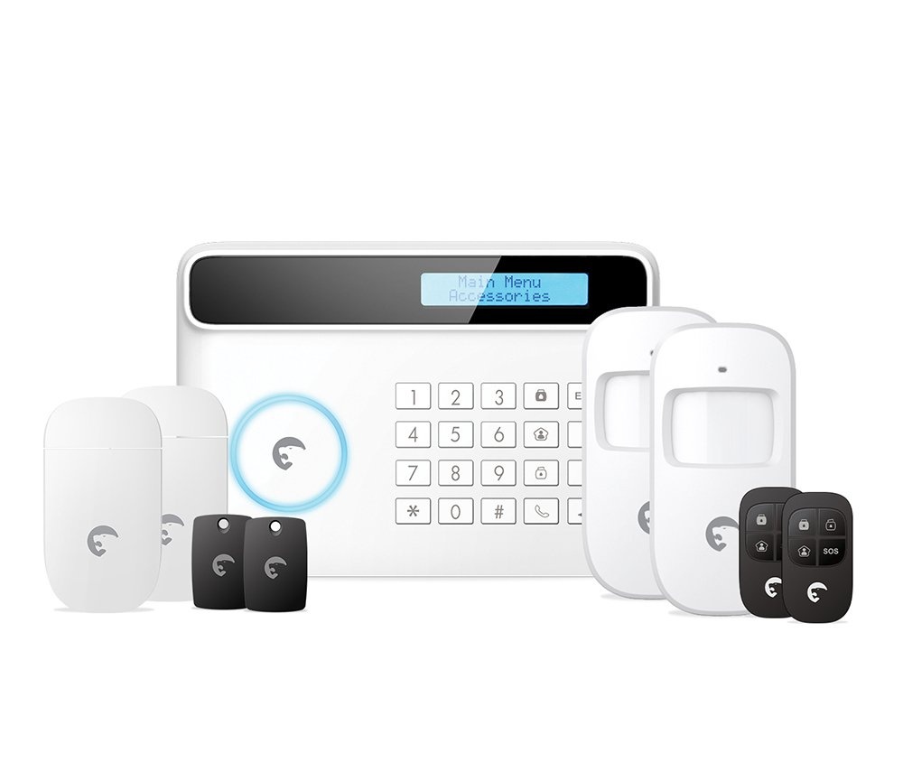 eTiger USA S4-CL Security Kit, S4 Cell and Line (White)
