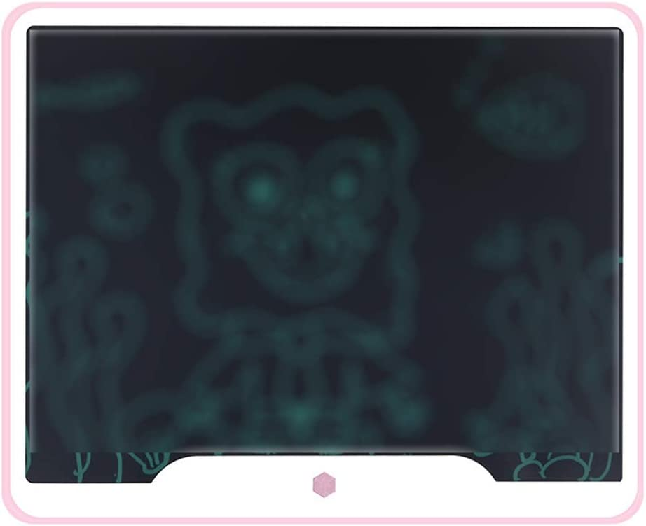 LCD Writing Tablet 15 Inch LCD Handwriting Board Graffiti Smart LCD Electronic Drawing Board Children Light Energy Blackboard LCD Writing Tablet Drawing Board Color : Pink A, Size : 15 inches