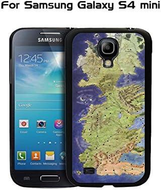 Samsung Galaxy S4 Mini TV - funda de Juego de Tronos mapa Custom Design [y pensado para regalo] Meterial carcasa rígida de plástico y protector de pantalla: Amazon.es: Electrónica