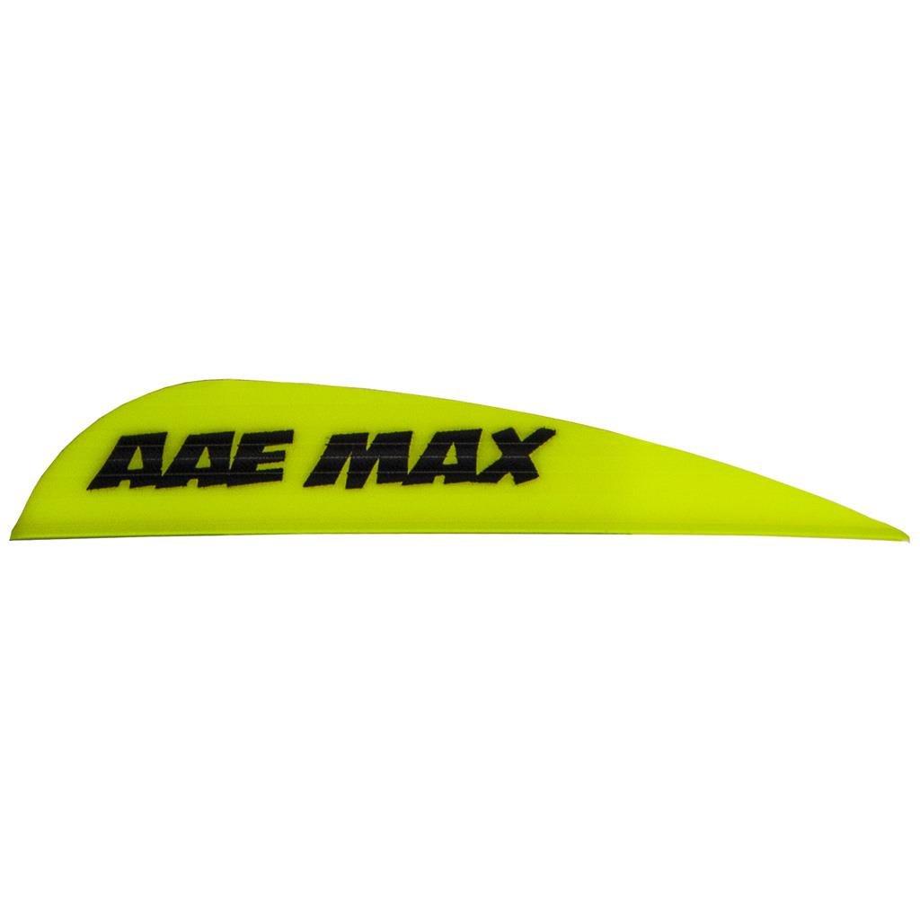 AAE Max Stealth Vane Yellow 100 pk. Model: MSYE100