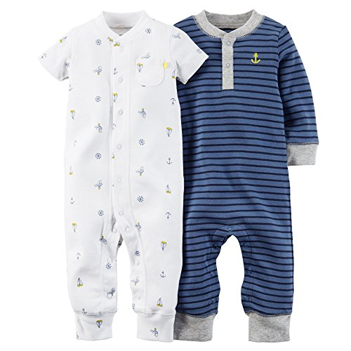 Carters Baby Boys 2 Pack Jumpsuit