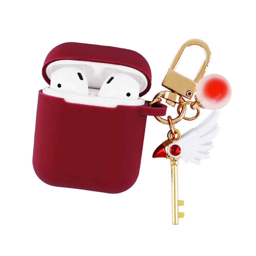 Amazon.com: Wildforlife - Llavero con diseño de Sakura, Rojo ...