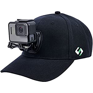 Smatree Baseball Hat with Quick Release Buckle Mount for GoPro 5 Session Hero 6/5/4/3+/3/2/1 (M 22.44-23.23'')