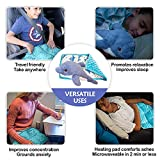 Keeping Kalm Dolphin Heatable Plush & Weighted Lap