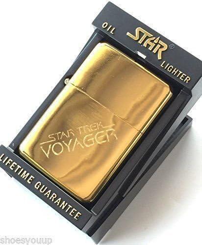 T2 59mm knopf-abzeichen Star Trek Voyager Benzin Gold Stern Anz/ünder