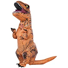 Rubies Jurassic World Childs Inflatable T-Rex Costume With Sound Child One Size