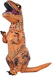 Rubie's Costume Jurassic World Child's T-Rex Inflatable Costume with Sound, Mu