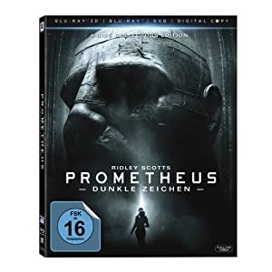 Prometheus - Dunkle Zeichen (+ Blu-ray + DVD + Digital Copy) (Collector's Edition)