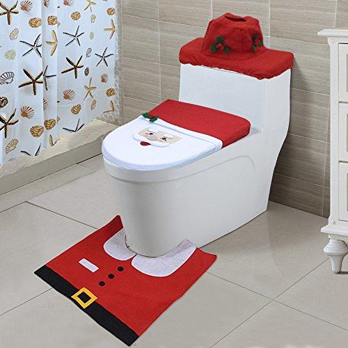 TTLIFE Christmas Decoration Toilet Bathroom product image