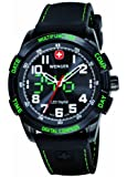 Wenger Men's Analogue Watch 70433 With LED Nomad Multifunction Digital Compass