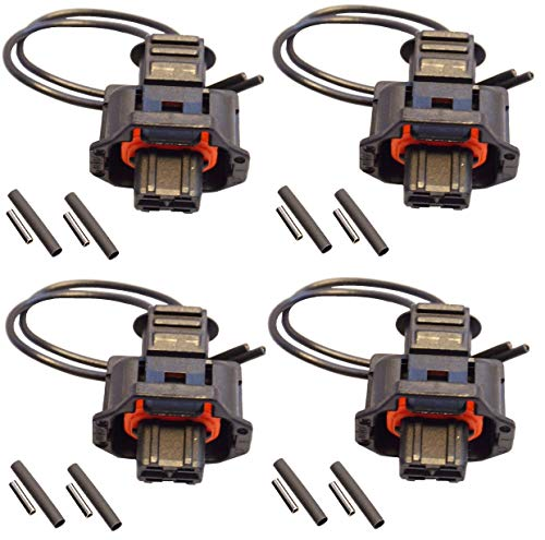 Twowinds Lote 4 x Kit reparaci/ón conector inyector 1928403874