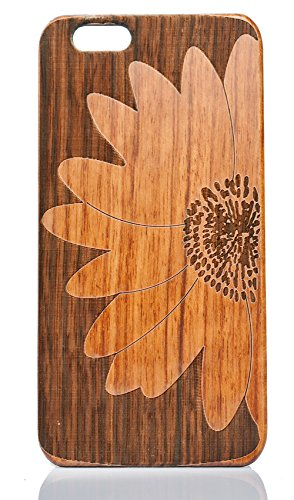 OTOOLWORLD Natural Cherry Wood Hard Protector Cover Genuine Rosewood Laser Any Desgin Phone Case For Iphone 5S 5SE Cover (