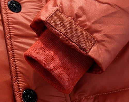Short down jacket HHY men's sleeve L orange Ux6wTS