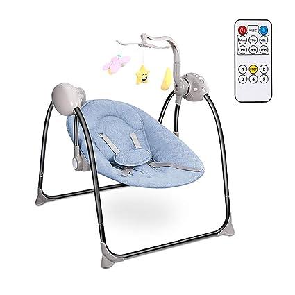 WANL Balancín eléctrico para bebé, Hamaca Multi Posiciones, 3 ...