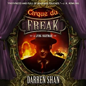 Cirque du Freak: A Living Nightmare Audiobook