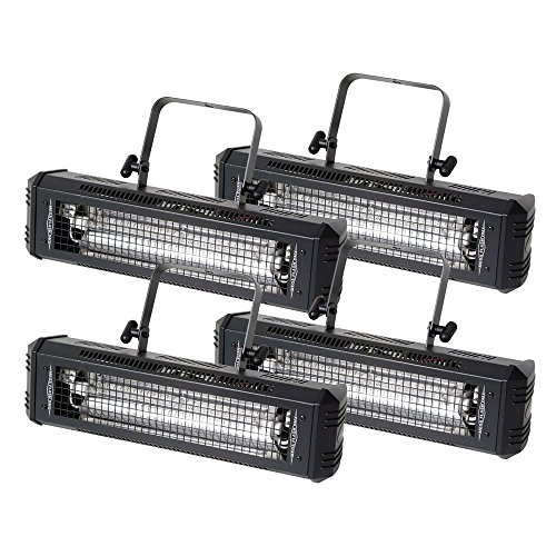 American Dj Flash - ADJ American DJ Mega Flash DMX 800 watt Strobe 4 Pack