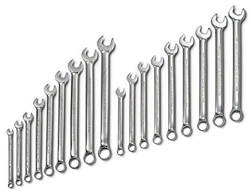 (Proto - 18Piece Full Polish Anti-Slip Fractional & Metric Combination Wrench Set - 12 Pt. (J1200CS))