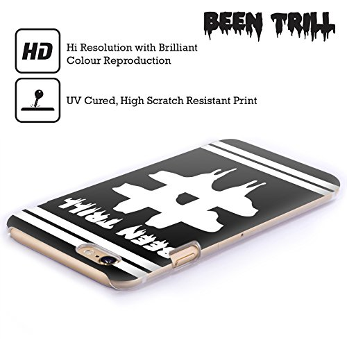 Official Been Trill Hashtag Double Stripe Black And White Hard Back Case for Apple iPhone 5 / 5s / SE