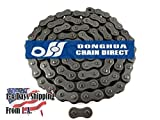 120H Heavy Duty Roller Chain 10 Feet with 1 Connecting Link