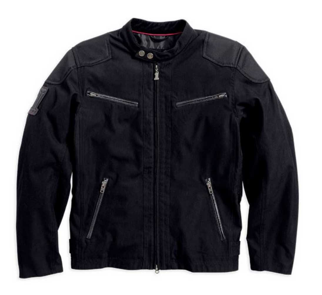 Harley-Davidson Men's Raven Textile Riding Jacket 98553-14VM by Harley-Davidson