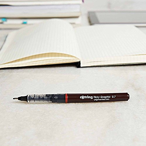 rOtring Tikky Graphic Fineliner Pens, 0.7mm & 0.5mm & 0.3mm, Black Ink, 3 Count by Rotring (Image #8)