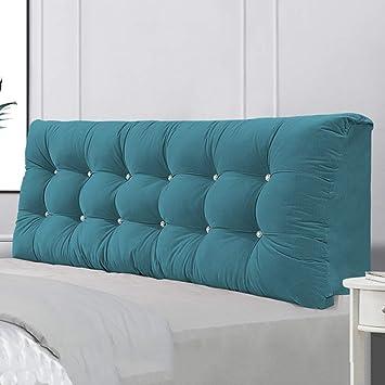 MMLI-pillow Cabecero Triangulo Cojines Cama Doble Individual ...