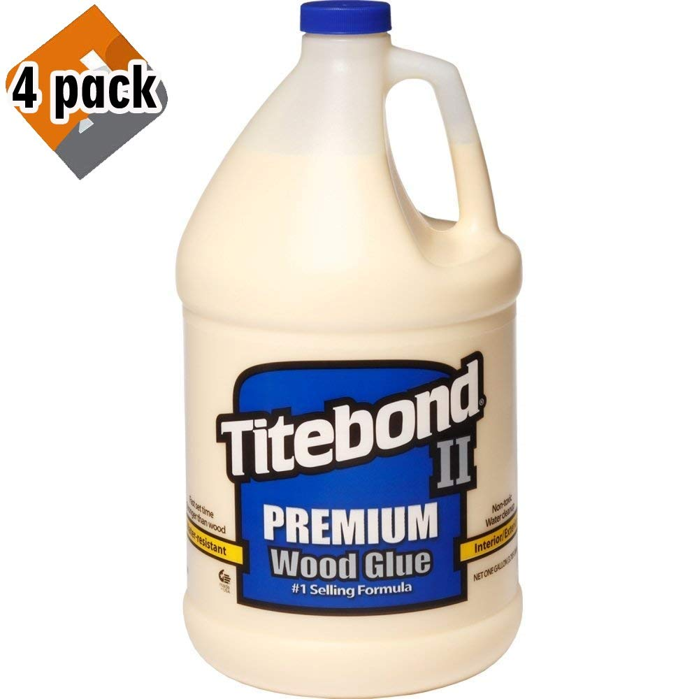 Titebond 5006 II Premium Wood Glue - Gallon - 4 Pack