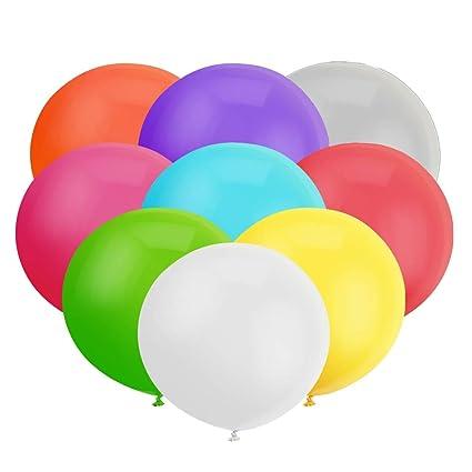 18 Inch Big Balloon Assorted Latex Giant Jumbo Thick Balloons For Photo Shoot Birthday