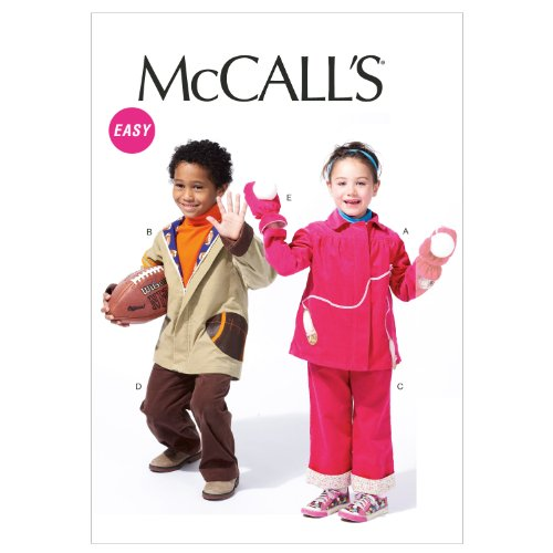 McCalls Patterns Toddlers Childrens Template