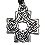 Rosicrucian cross pendant sale 48 deals from 399 sheknows pewter rose cross irish celtic knot pendant necklace mozeypictures Image collections