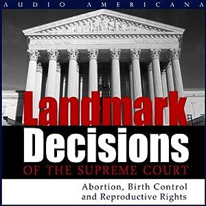 Landmark Decisions of the Supreme Court Audiobook