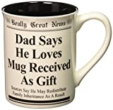 Best Enesco Dad Mugs - Enesco Dad Says He Loves Mug Received As Review