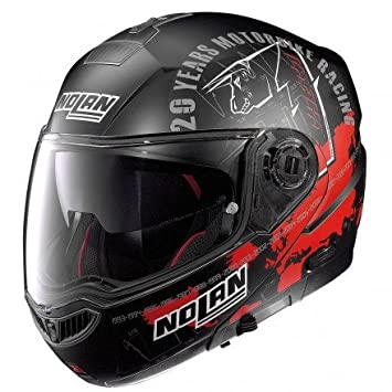 Casco Moto Modular desmontable Nolan N104 Absolute Iconic 058 M REPLICA C.CHECA