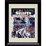 Framed UNC Tar Heels 2017 National Champs! Sports Illustrated Autograph Replica Print - Meeks Block!