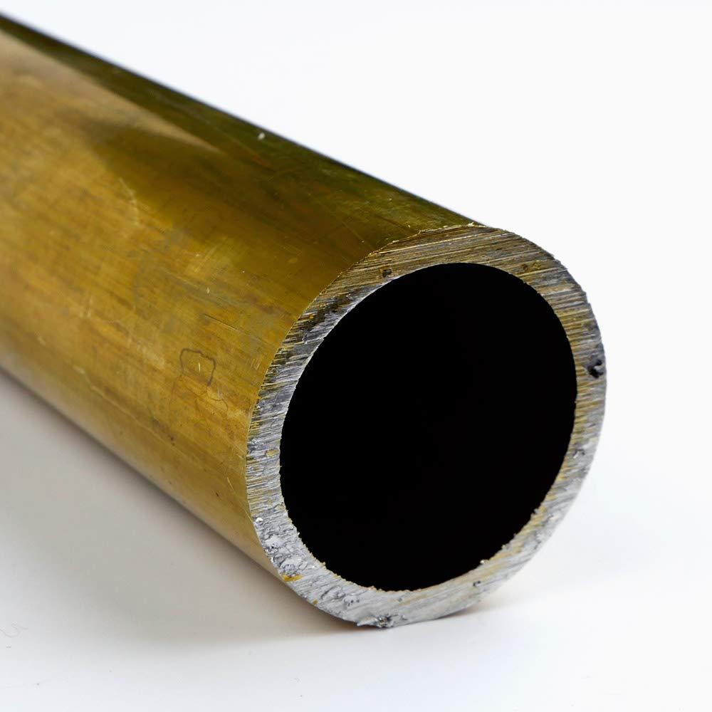 4 OD x 0.065 Wall x 3.87 ID Brass Round Tube-H58 Seamless 96.0