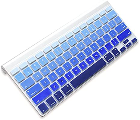 Silicone Cover Skin protector for Apple Wireless IMAC Bluetooth Keyboard Guard