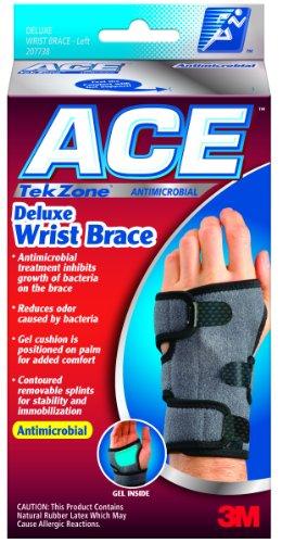 Ace Tekzone Deluxe Wrist Brace - Large/X-Large (7.25-9