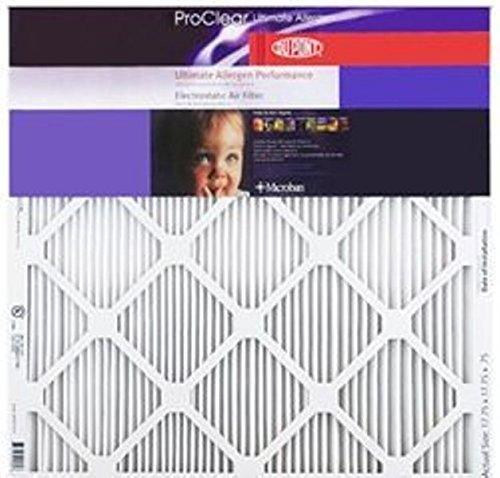 14x14x1 DuPont ProClear Ultimate Allergen Electrostatic Air Filter, MERV 12