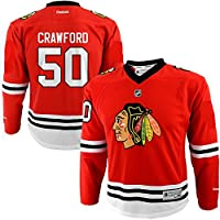 Corey Crawford Chicago Blackhawks NHL Reebok Toddler Red Replica Hockey Jersey (Size 2T-4T)