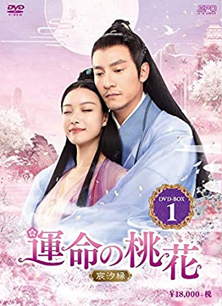 [DVD]運命の桃花~宸汐縁~ DVD-BOX1