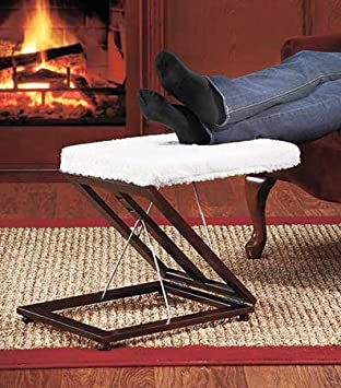 Foot Stool Adjustable Padded Under Desk Wooden Patio Low Collapsible Small Office Desk Portable & Amazon.com: Foot Stool Adjustable Padded Under Desk Wooden Patio ... islam-shia.org