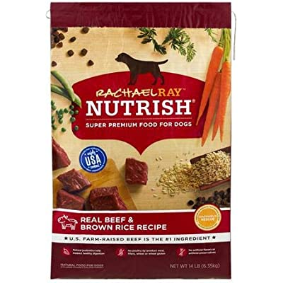 Rachael Ray Nutrish Real Beef & Brown Rice Recipe Dog Food (Pack of 2)