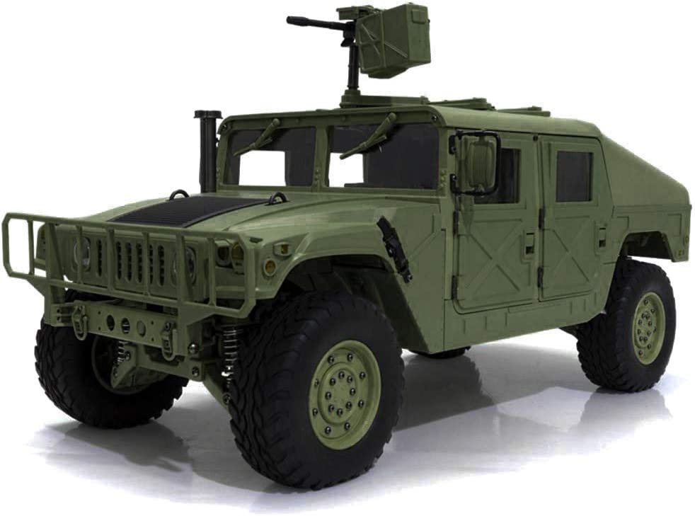 Integy RC Model Hop-ups C29000 HG-P408 1/10 4X4 RC Military ...
