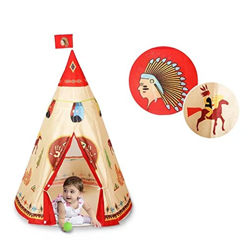 coffled-indian-kids-game-playhouse-for-indoor-outdoor-portable-kids-teepee-tent-41x63