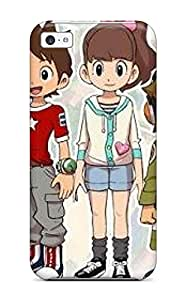 Nora K. Stoddard's Shop Iphone 5c Case Cover - Slim Fit Tpu Protector Shock Absorbent Case (youkai Watch Episode 3)