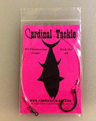 60# Fluorocarbon Tuna Chunking Rig 6/0 Circle Hook